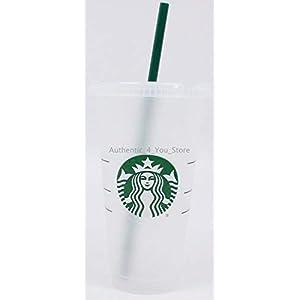 Starbucks Siren Logo Wiederverwendbare Kunststoff-Kaltbecher, 625 ml