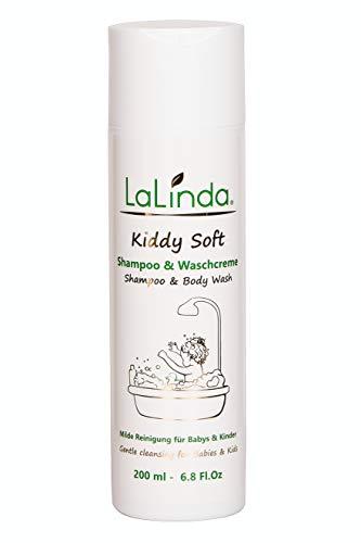 Naturkosmetik Shampoo und Waschlotion für sehr empfindliche Haut ✔ auch bei Gereizter Juckender Kopfhaut geeignet ✔ Für Babys, Kinder und Erwachsene ✔ 200ml