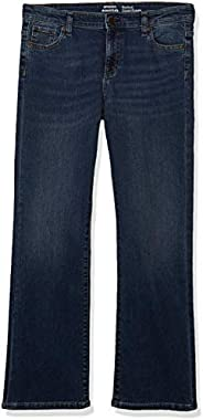 Amazon Essentials Girls' Boot-Cut Jeans Bam