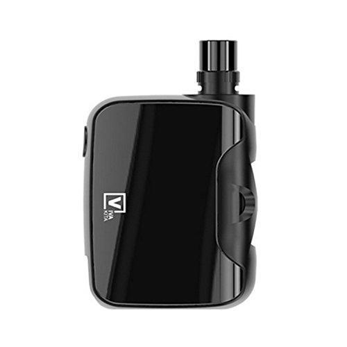 FUSION E-Zigarette Box Mod 50W 'All-in-one' schwarz, LED 7 einstellbaren Farben (ohne Nikotin, ohne Tabak)