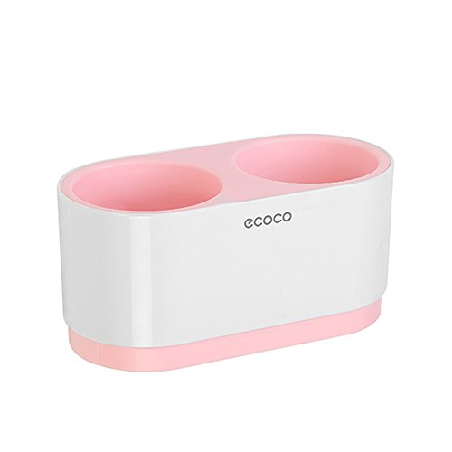 Badezimmer LHA Shelf Fön-Gestell Keine Notwendigkeit, Sucker-Haartrockner-Regal zu Bohren Shelves (Farbe : Pink)