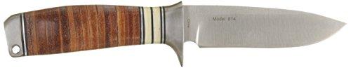 Browning Stacked Leather Coltello da caccia a lama fissa