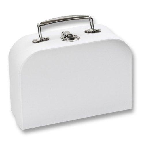 Folia Bringmann Koffer Set aus Pappe, 2 Stk. - Dekokoffer zum Selbstgestalten Bemalen