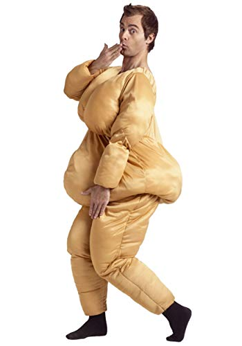 Suit Womens Kostüm Fat - Adult Fat Suit Fancy dress costume Standard