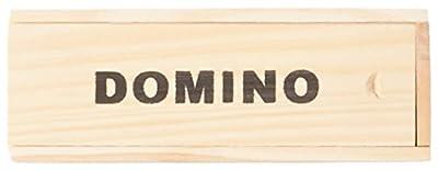 WDK PARTNER - A1300360 - Jeux de société - Jeu de dominos - Plumier bois