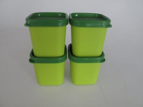 TUPPERWARE Mikrowelle MicroGourmet Förmchen grün (4) Dampfwunder Micro Mikro 15528