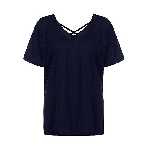 Buimin - Sweat à capuche - Femme WE Bleu Marine