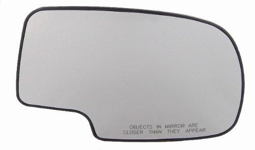 New Passenger Side Mirror Glass GMC Sierra 1500, 1500 HD, 2500 HD, 3500, Chevrolet Silverado 1500, 1500 HD, 2500, 2500 HD, 3500, 2001 GMC Sierra C3, Backer Plate by Discount Starter & Alternator - Sierra 2500 Hd
