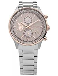 Reloj U.S. Polo ASSN. Winston Cronógrafo Hombre Silver Dial usp4416rg