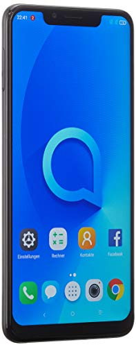Alcatel 5V Smartphone da 32 GB, Spectrum Nero [Versione Italiana]