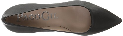 Paco Gil P2645 Damen Pumps Schwarz (Black)