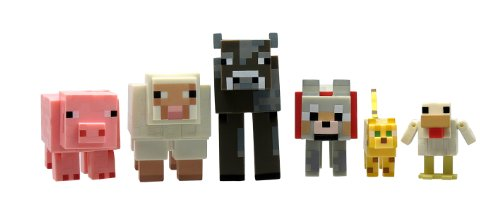 Minecraft Core Animal Mob (Pack of 6)