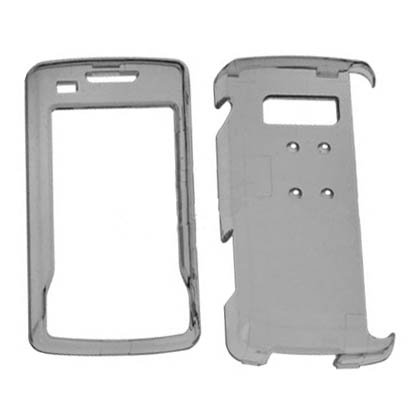 Hard Kunststoff Snap on Cover Passend für LG VX11000EnV Touch Clear Smoke Env-snap