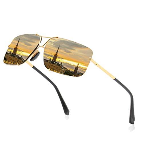 VIWIV Photochrome Sonnenbrillen Für Herren-Sonnenbrillen Mit Polarisierendem Fahrverhalten, Sonnenbrillen Mit Farbwechselndem Nachtsichtvermögen Für Nachtfahrbrillen