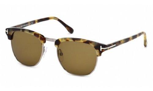 Tom Ford 0248 55j Helles Tortoise Henry Wayfarer Sunglasses