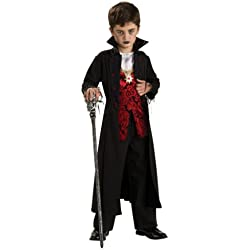 Rubie's Royal Vampire Childrens Halloween Fancy Dress Costume (Large 8-10 Years)
