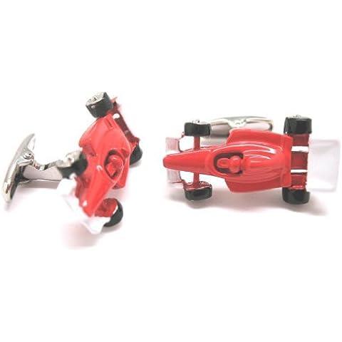 Auto da corsa di Formula Premium rosso 1 F1 Racing Gemelli