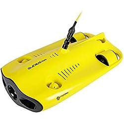 MROSW Cinq Roues Motrices Miniature sous-Marin sous-Marine Drone Plongée sous-Marine avec La Profondeur Drone Caméra 4K 100M