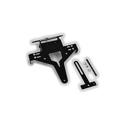 Universal Motorrad Kennzeichenhalter Kennzeichenträger Nummernschild Halter / Halteplatte Heck Umbau Streetfighter Typ 6 IBEX