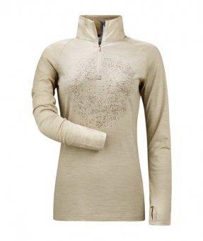 Cavallo Active Wool Funktionsshirt Jaqueline, Sand Melange, 40