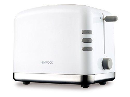 Kenwood TTP 310 Blanc-Serie / Toaster / 1100 Watt / Brötchenaufsatz / Weiß-Edelstahl