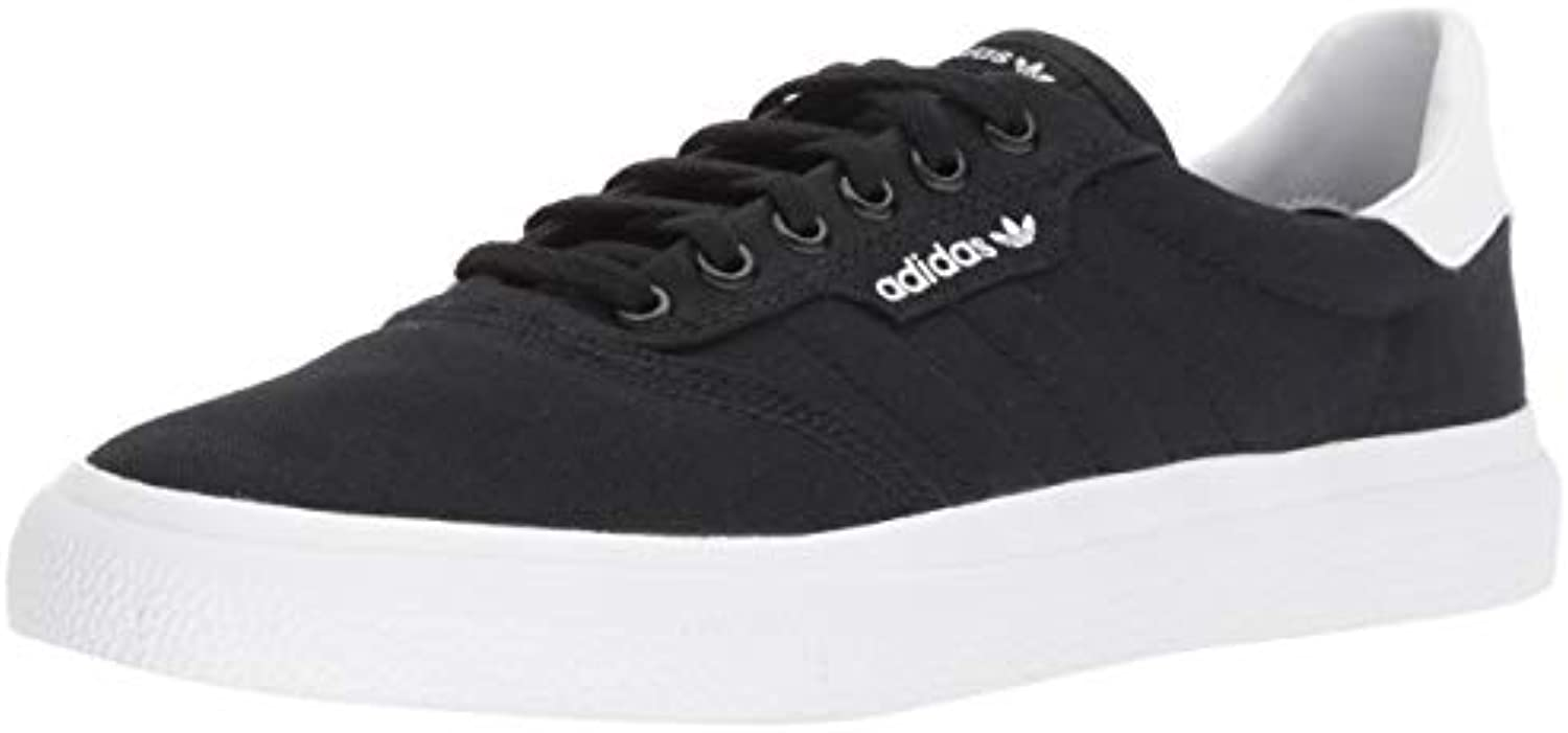 adidas Originals 3MC Black/White, Skate Shoe Black/White, 3MC 7 M US ff722c