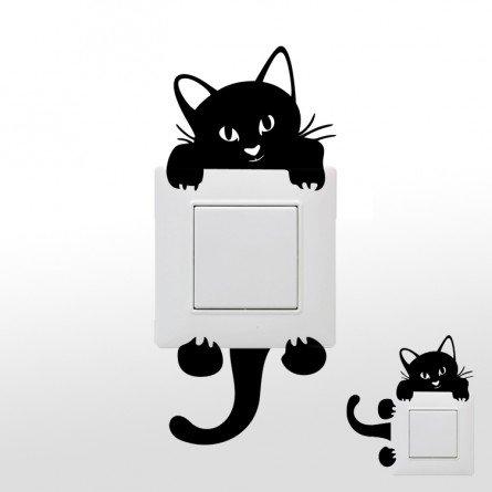 kolylongr-wandaufkleber-deko-wohnzimmer-federwandaufkleber-katze-lichtschalter-dekoration-sticker-ku