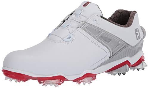 adidas adipower boost 3 golf shoes metallic white blue
