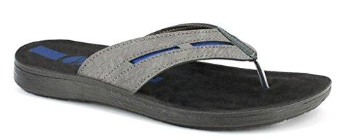 INBLU Infradito Ciabatte da Uomo Mod. VA-19 Jeans Flip Flop (40)