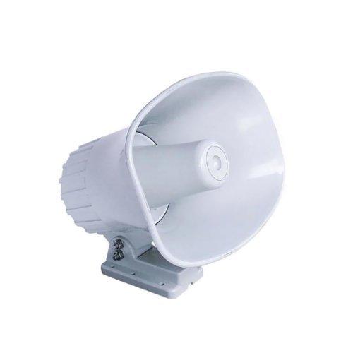 Standard Horizon 240SW 5 x 7 Rectangular Sound PA Hailer Horn White by Standard Horizon Hailer Horn
