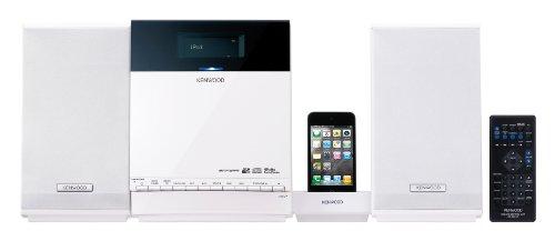 Kenwood C-414-W Kompaktanlage (Apple iPod-Dock, CD/MP3/WMA, 2X 10 Watt, USB 2.0, SD) weiß