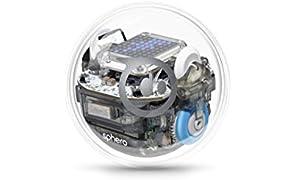 Sphero Bolt - Sfera Robot Educational di Avanzata Tecnologia, Schermo LED Programmabile, Portata Bluetooth Fino a 30 metri, Compatibile iOS/Android e Kindle Store