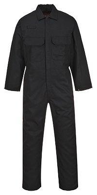 Portwest Clothing Ltd Portwest biz1bktxl Bizweld Flamme beständig Schutzoverall, hoch, Größe: Large, schwarz