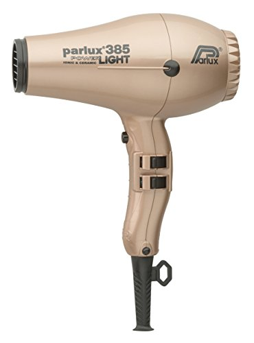 Parlux 385 Power Light Asciugacapelli Ceramic & Ionic, Oro