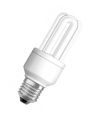 Osram 63267 Duluxstar 11 W/825, entspricht 50 Watt, Sockel E27 Energiesparlampen in Röhrenform, warmweiß von Osram auf Lampenhans.de