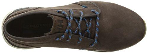 Helly Hansen Borgen, Chaussures montantes pour Homme Marrone (Coffe Bean/Racer Blue)