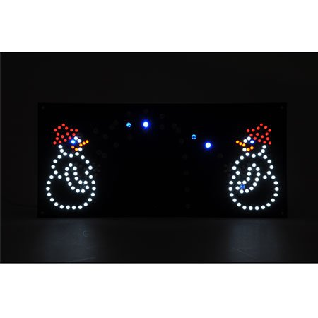 ELV LED Schneeballschlacht LED-SBS Bausatz - Schneemann-bausatz