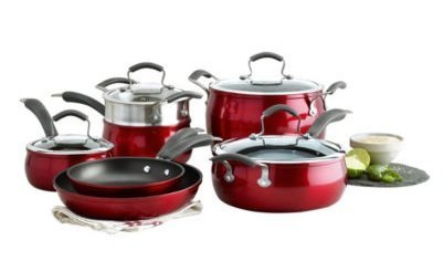 Epicurious 11-pc. Aluminum Nonstick Cookware Set by Epicurious