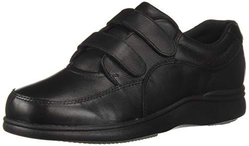 Hush Puppies Power Walker II Womens Walking Shoes Black Leather 9.5 Ew -
