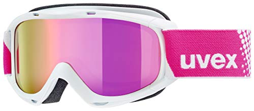 Uvex Kinder Slider FM Skibrille, White, One Size