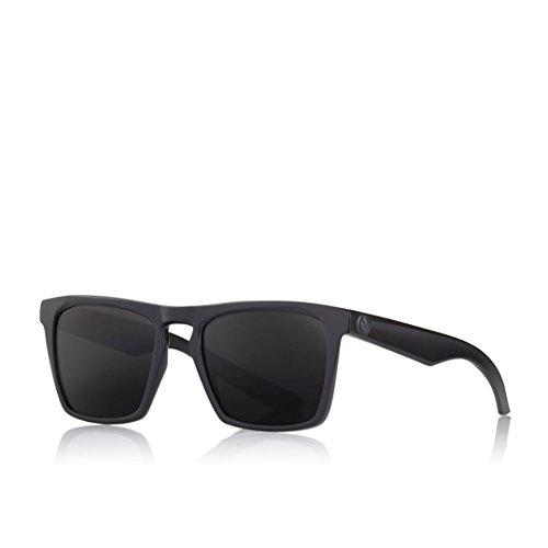 Dragon Polarisierte Sonnenbrillen Drac H2o Matte Schwarz-Smoke P2 (One Size , Schwarz) - Männer Sonnenbrille Dragon H2o Für