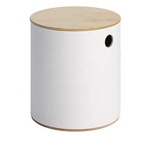 RONDJE Bemalbarer Kinderhocker mit Stauraum. Ideal als Aufbewahrungsbox. Hocker ist Bemalbar und sehr stabil (>300 Kg). Passt in jedes Kinderzimmer. Sitzfläche aus Birke (H: 21 oder 31 cm). rundstil.