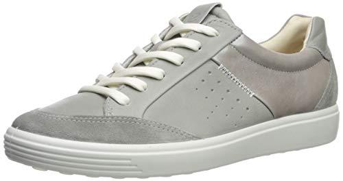 Ecco Herren Soft 8 Men's Sneaker, Grau (Titanium), 41 EU