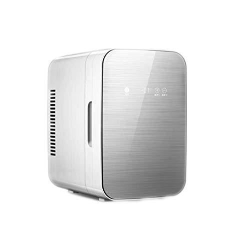 Wohnheim Mini Kühlschrank weiß 8L, geeignet für Bierkost Milchkühlung, geeignet für Indoor, Auto, Camping -