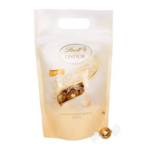 Lindt Lindor Weiße Schokoladenkugeln (glutenfrei - ca. 80 Kugeln) 1 kg