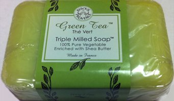 green-tea-the-vert-triple-milled-soap-100-pure-vegetable-enriched-with-shea-butter-by-bisous-provenc