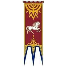Il Signore degli Anelli - Bandiera - Bandiera di Rohan IV - 57 x 196 cm + patch set