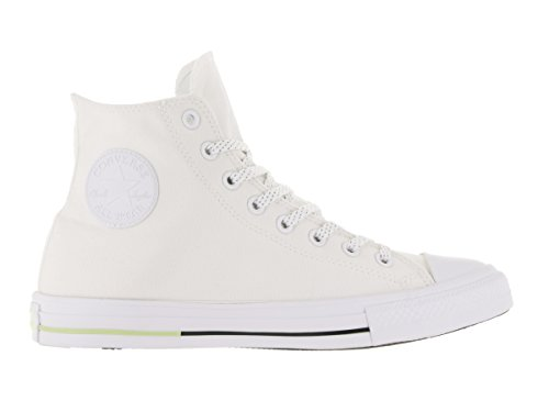 Converse AS Hi Can charcoal 1J793 Unisex-Erwachsene Sneaker White/Volt/Black