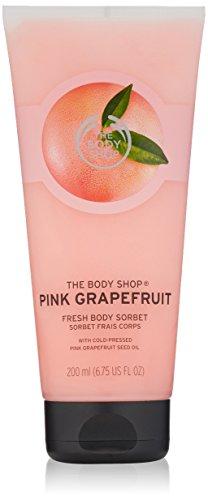The Body Shop Corps Sorbet 200 ml – Fraise/Satsuma/rose pamplemousse/mangue/Moringa