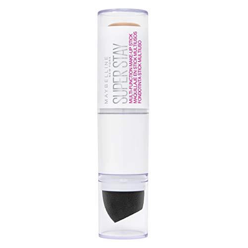 Maybelline New York Super Stay Multi-Funktions Make-up Stick Nr. 25, Classic Nude und Concealer in einem, bis zu 24h Halt, mit Präzisionsblender, 7 g